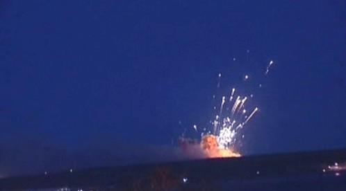 Exploze munice v Uljanovsku
