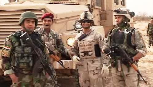 Spojenecké jednotky v Iráku