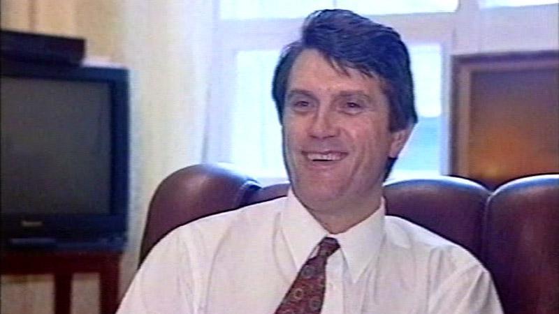 Viktor Juščenko v roce 1995