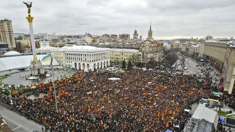 Oranžová revoluce na Ukrajině