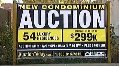 Aukce bytů