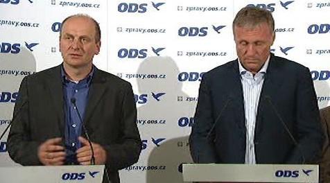 Petr Gandalovič a Mirek Topolánek