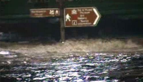 Záplavy na severu Anglie
