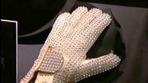 Rukavice Michaela Jacksona