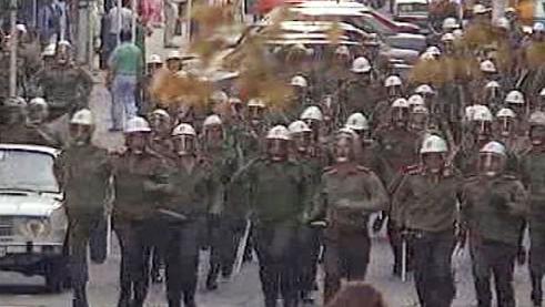 Policejní zásah v listopadu 1989