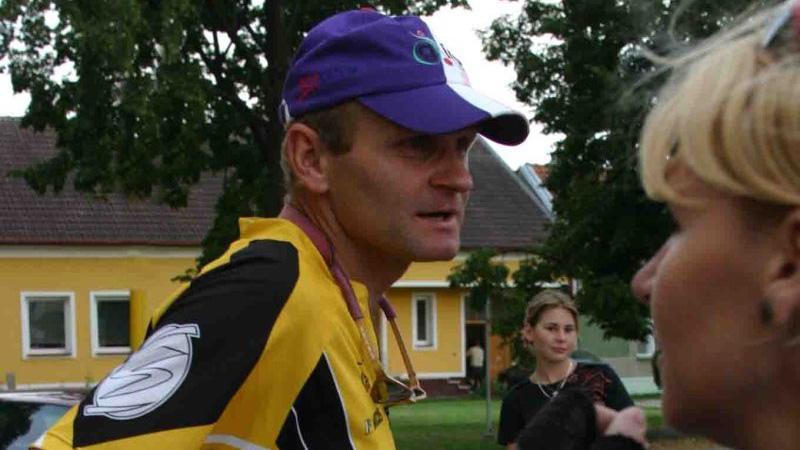 Cyklista Vítězslav Novák