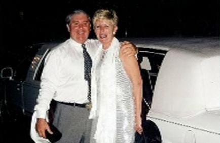 Brian Thomas s manželkou