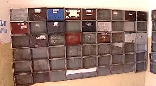 Zdevastované poštovní schránky