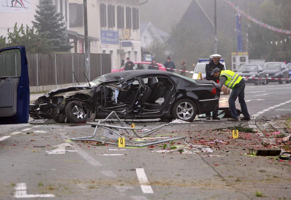 Tragická havárie Jörga Haidera