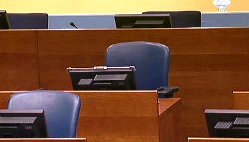 Karadžičova židle zůstala prázdná