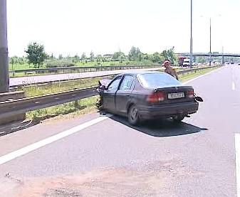 Nehoda v Praze 5