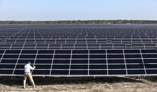 Solární elektrárna v Lieberhose