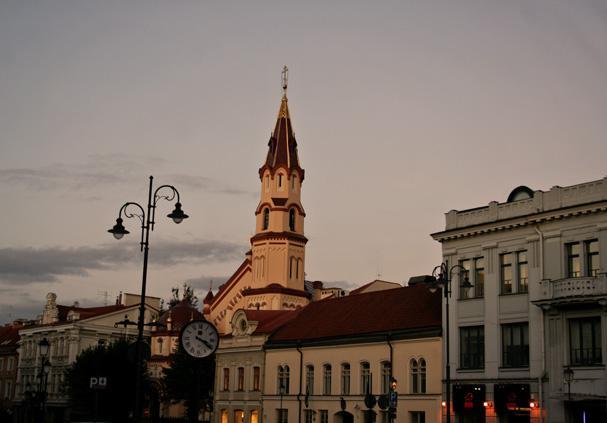 Historické centrum Vilniusu