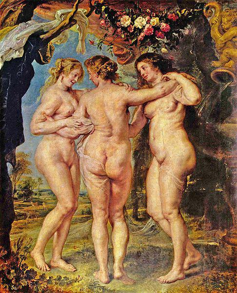 Petr Pavel Rubens: Tři grácie