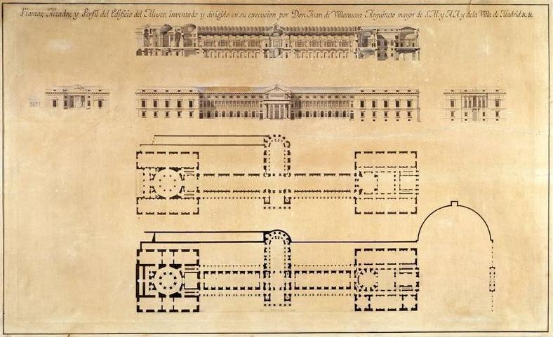 Plány na výstavbu muzea Prado