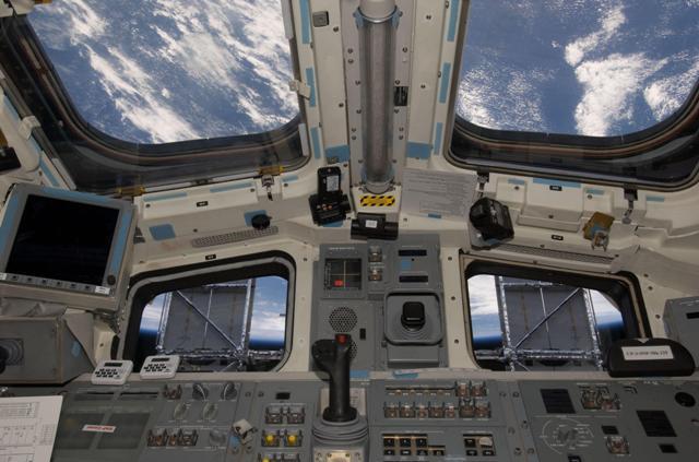 Kabina raketoplánu Atlantis