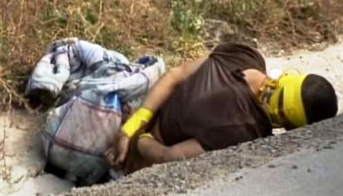 Oběť drogové války v Mexiku