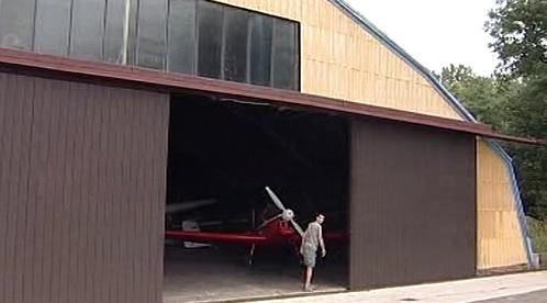 Letecký hangár