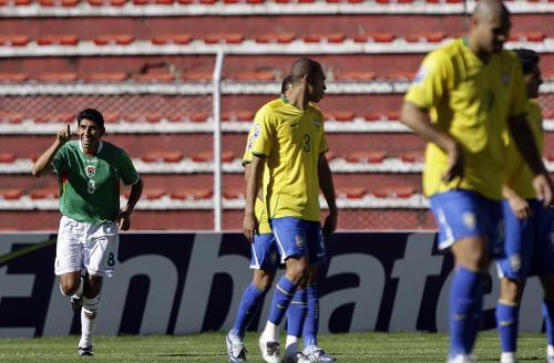 Zápas Bolívie-Brazílie