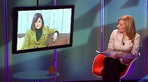 Fionnuala Sweeneyová v Interview ČT24