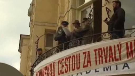 Totalitní městečko v Ostravě