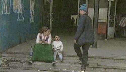 Bída v ulicích Bukurešti