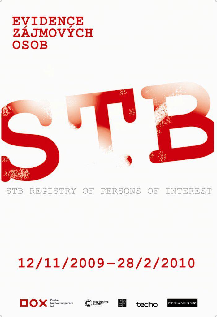 Evidence zájmových osob. StB