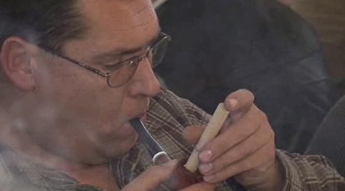 Kouření dýmky