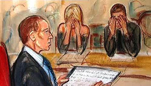 Rodiče šestiměsíčního R.B. v soudní síni