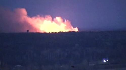 Výbuch muničního skladu v Uljanovsku