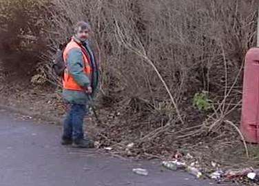 Úklid odpadků
