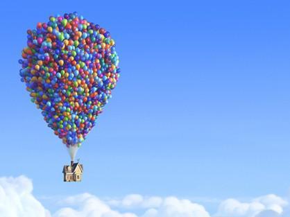 Z filmu Up (Vzhůru do oblak)