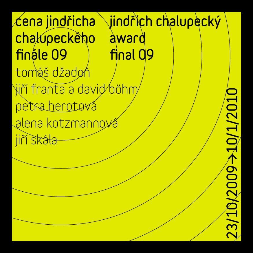 Finalisté Chalupeckého ceny 2009