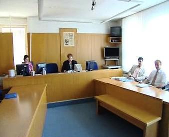 Josef Pejchl před soudem