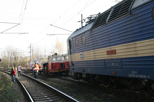 Nehoda na železnici