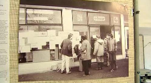 Výstava věnovaná listopadu 1989