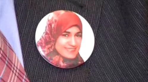 Portrét zavražděné Egypťanky