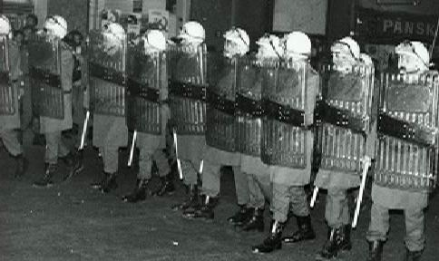 Demonstrace v Teplicích v roce 1989