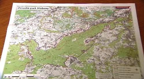 Plán uvažovaného národního parku