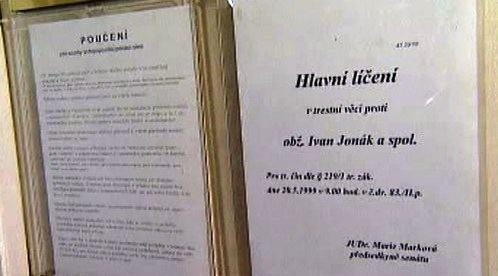 Soud s Ivanem Jonákem