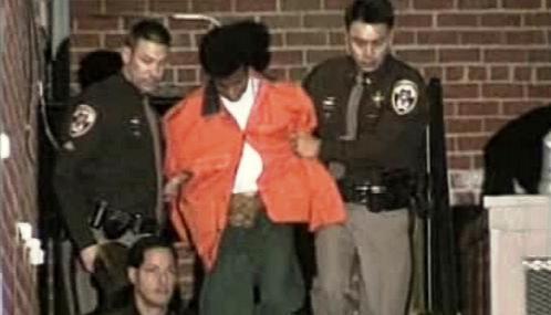 Policie zatýká Johna Allena Muhammada