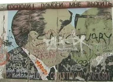 Berlínská zeď v roce 2009