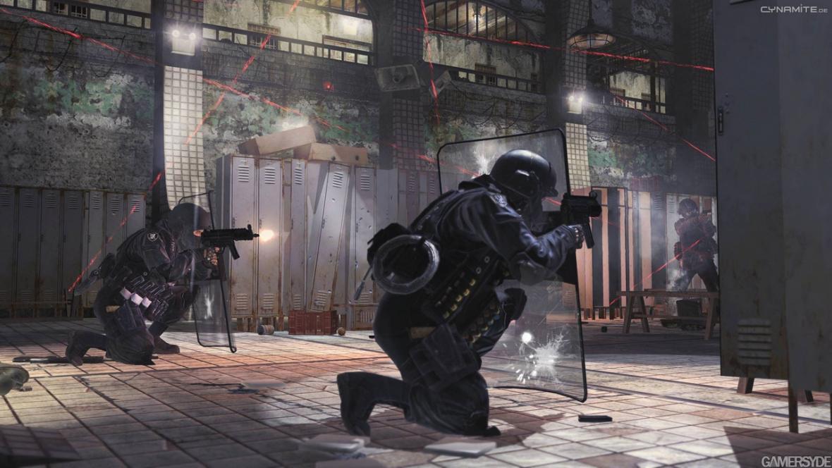 Válečná vřava v Call of Duty: Modern Warfare 2
