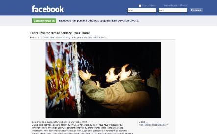 Nicolas Sarkozy na Facebooku