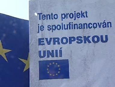 Logo projektů financovaných EU