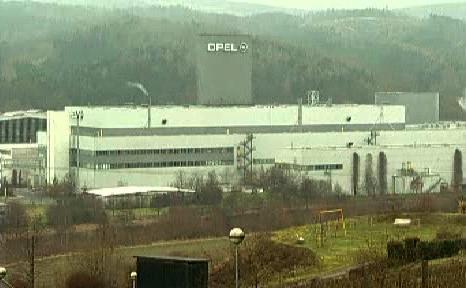 Továrna automobilky Opel