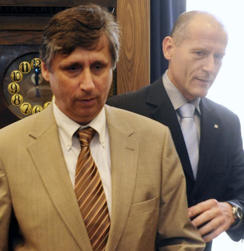 Jan Fischer a Zdeněk Tůma