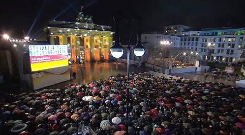 Oslavy pádu Berlínské zdi