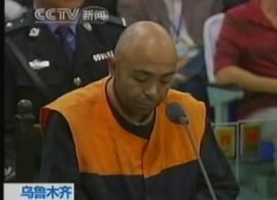 Odsouzený Ujgur