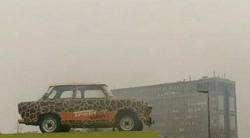Trabi Safari po Berlíně - Jízda divokým Východem